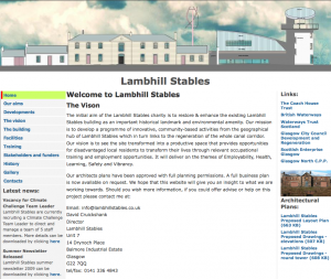 Lambshill Stables